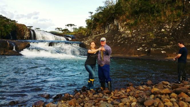 20 - Cachoeira do rio pelotas - viajando em 3.. 2... 1...