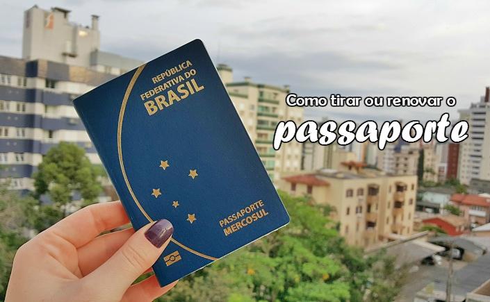 tirar passaporte no brasil