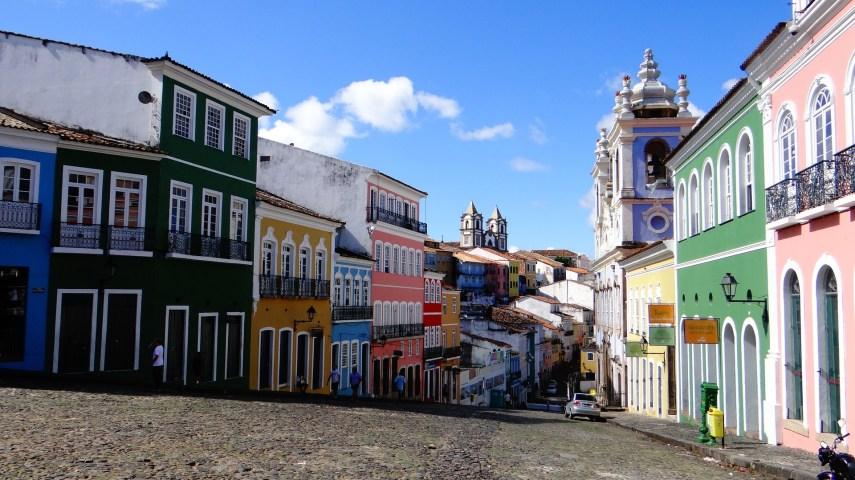 Pelourinho en Salvador de Bahia