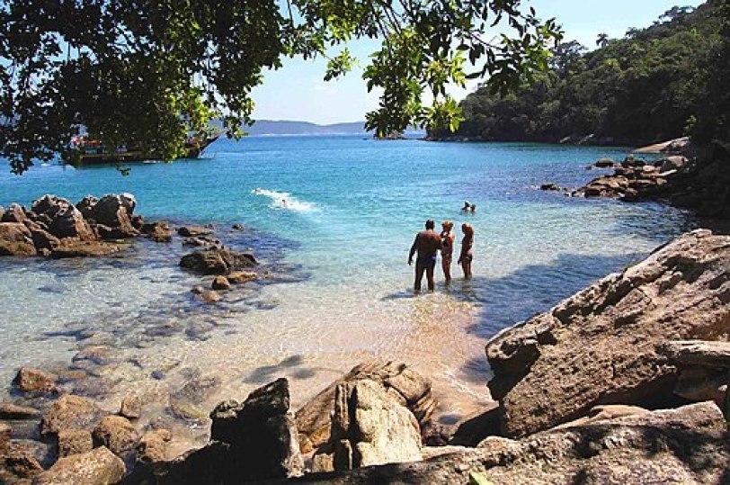 Playa da Sepultura Bombas y Bombinhas