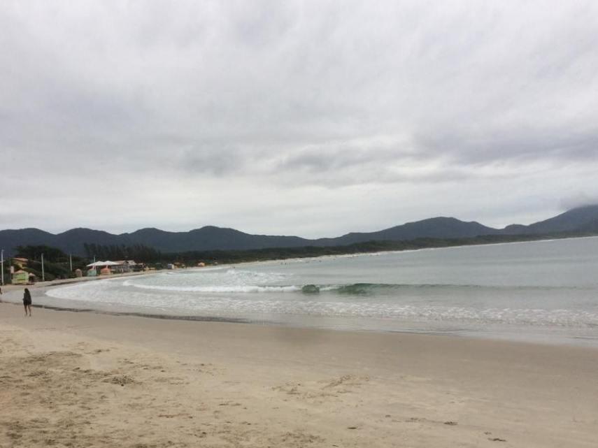 Playa Barra da Lagoa, Florianópolis en invierno