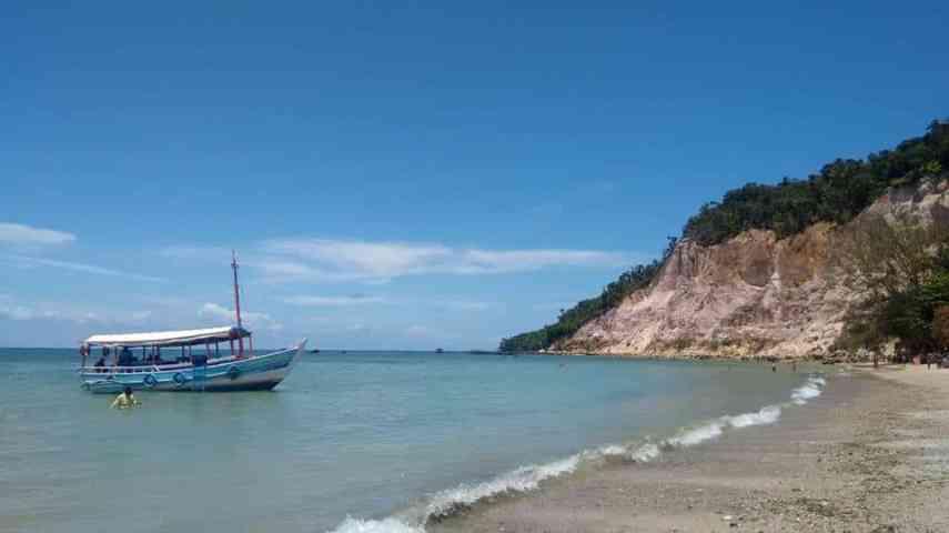 Playa de arcilla medicinal