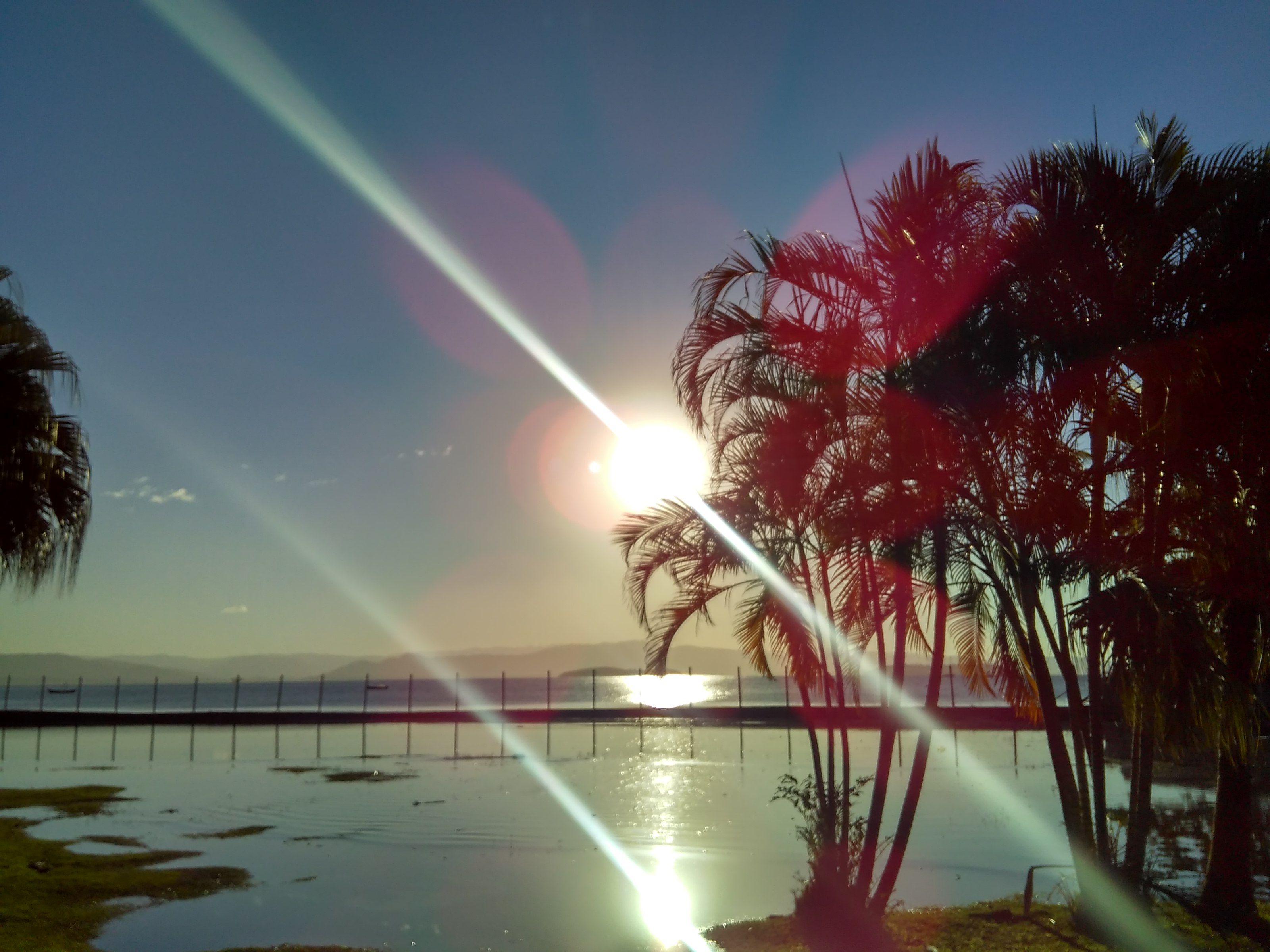 El mejor atardecer de Florianópolis