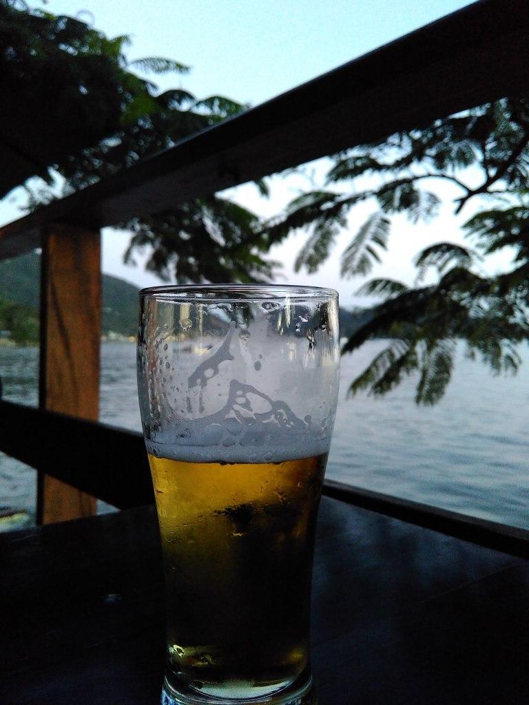 Atardecer en el Bar Chão Batido -Santo Antonio - Florianópolis