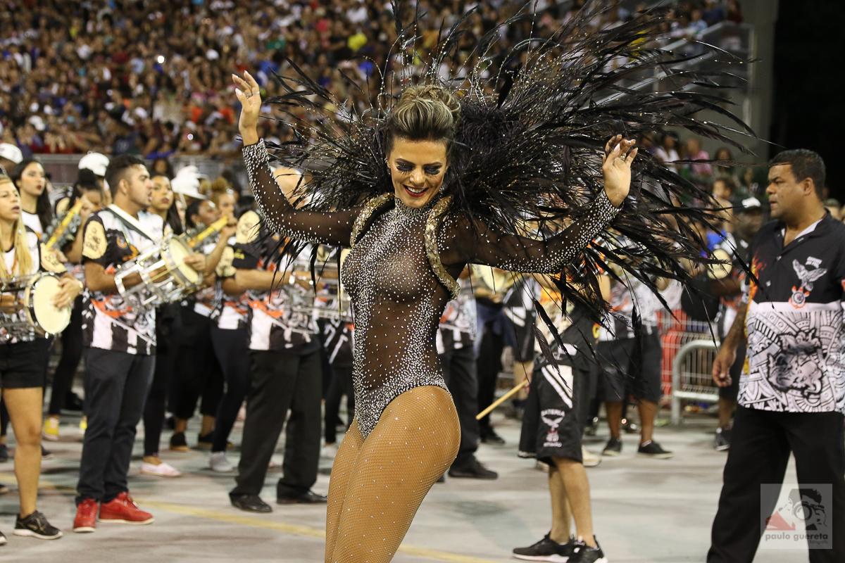 Ensayo del desfile de Carnaval de São Paulo