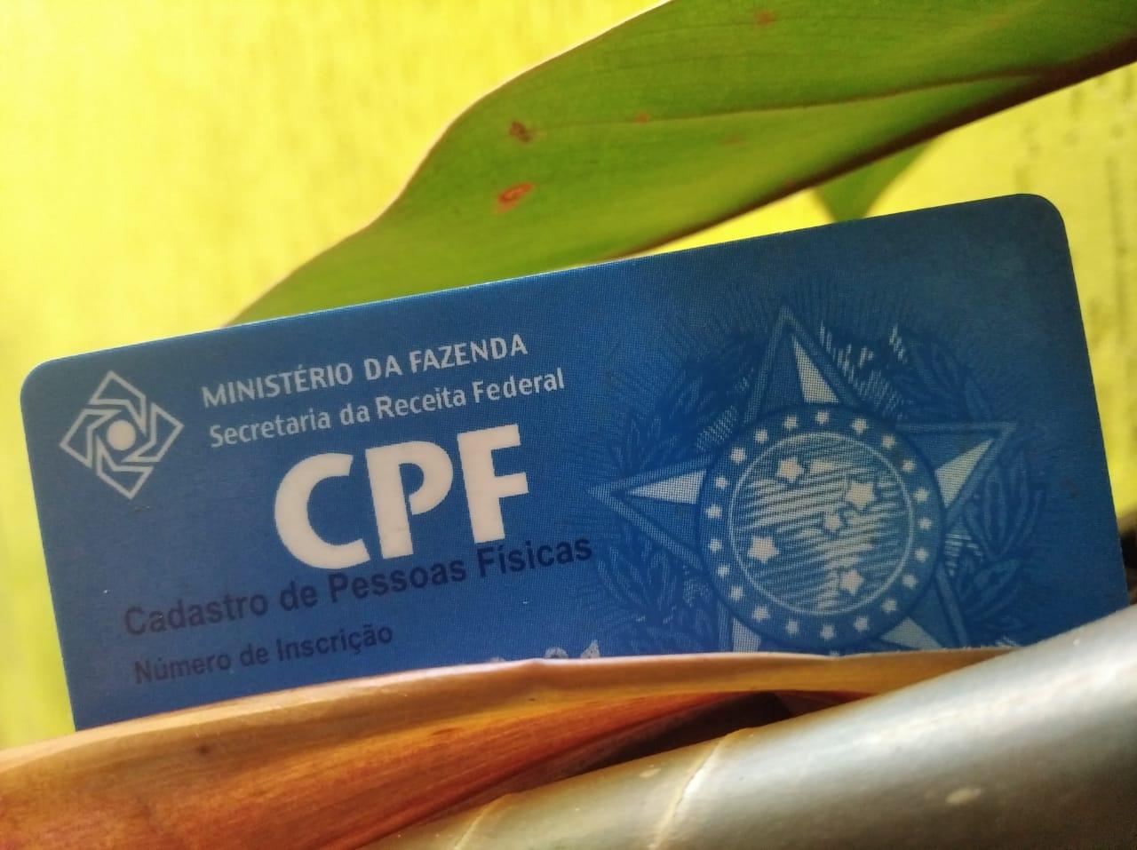 CPF brasileño