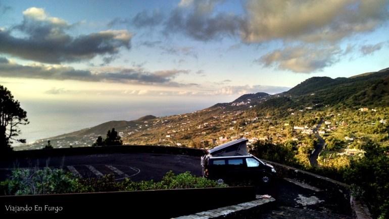 Amaneciendo en La Palma