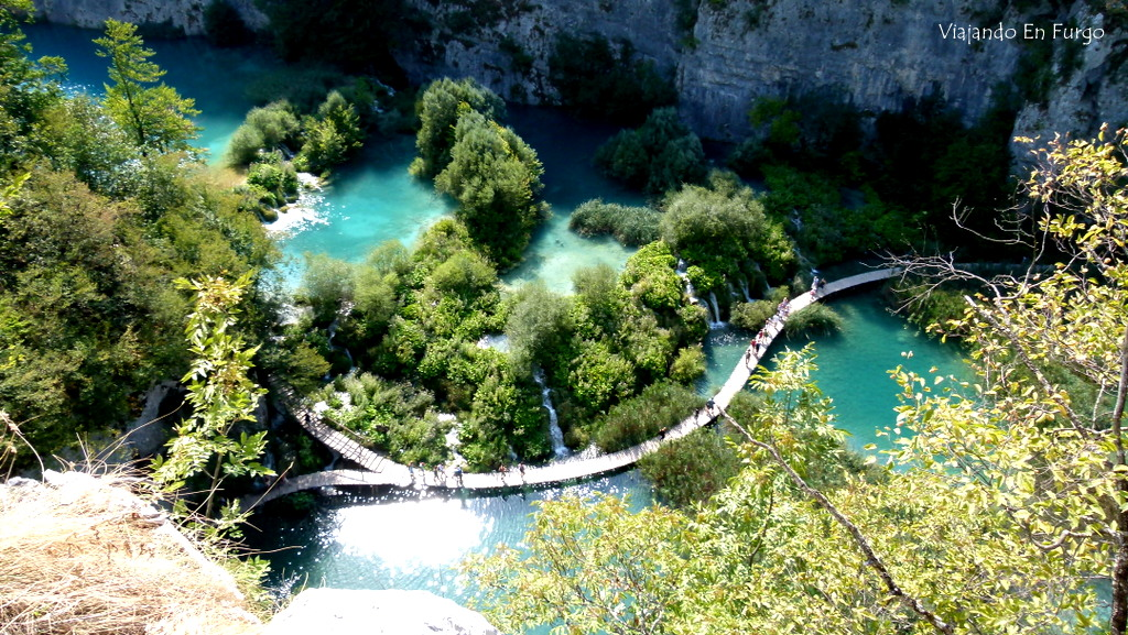 Plitvice Croacia en furgo 3