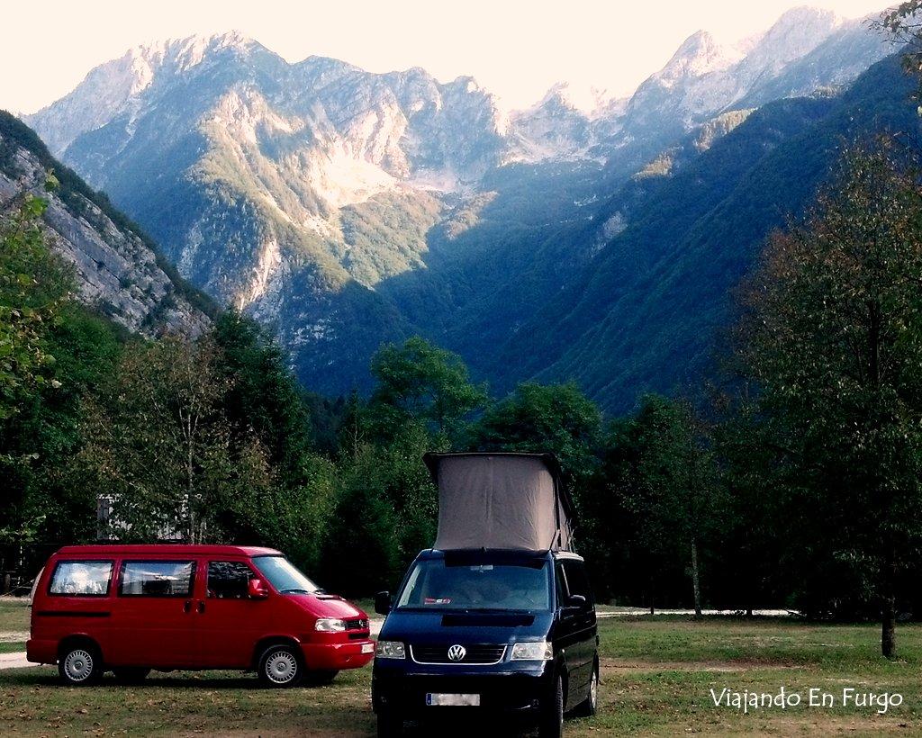 Valle del Soca - Eslovenia en furgo
