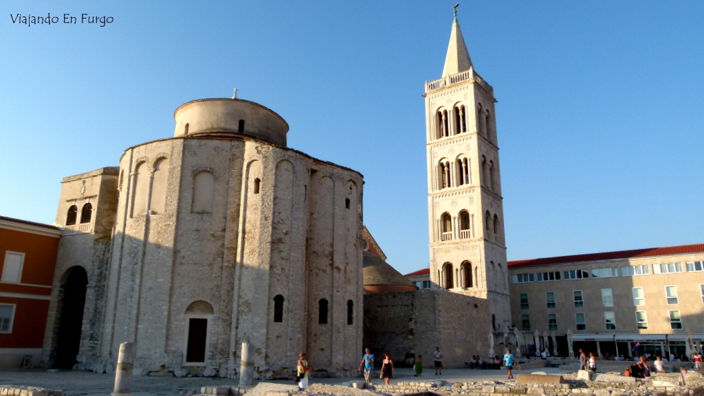 Zadar Croacia en furgo