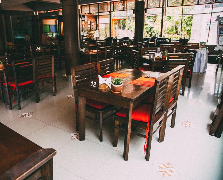 Railay Princess Resort & Spa - restaurante onde é servido o café da manhã