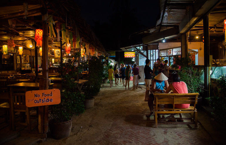 Restaurantes em Railay Beach