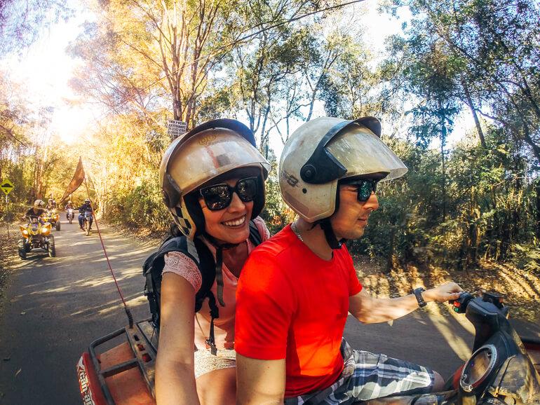 Passeio de quadriciclo em Macacos, Minas Gerais