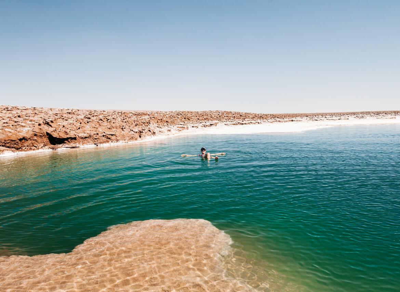 Lagunas Escondidas de Baltinache | um mergulho nas águas salgadas de uma das lagunas
