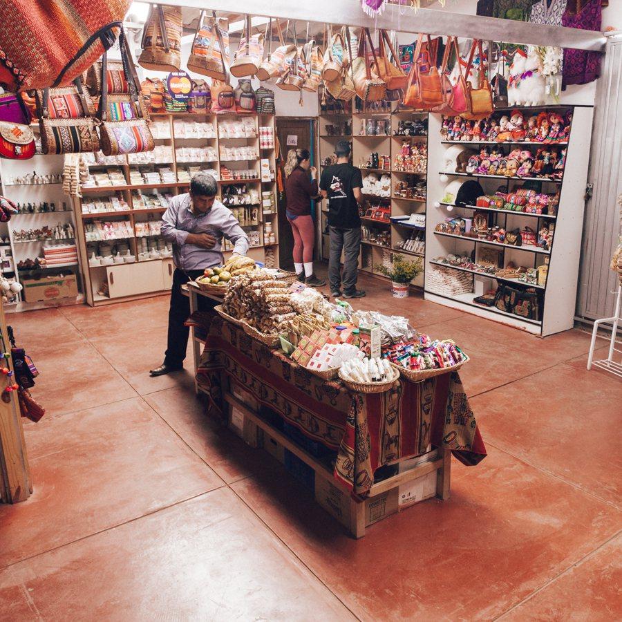 Loja no centro de Maras