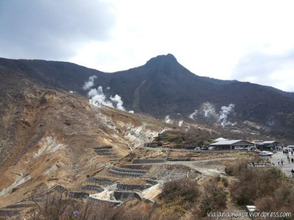 Hakone_atividade_vulcanica