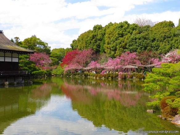 templo_Heian_shrine_sakura_kyoto