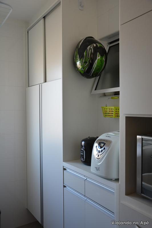 Armário lavanderia area de serviço