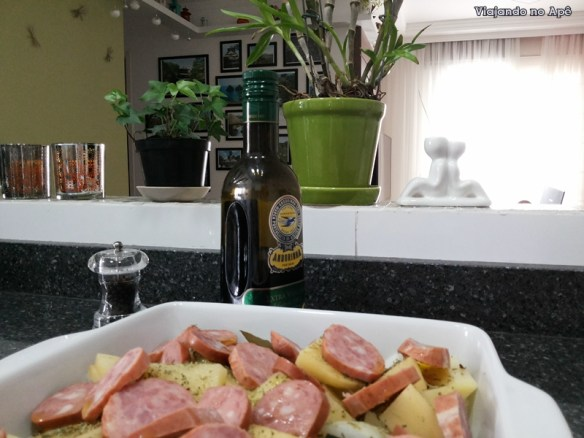 linguiça de forno