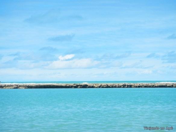 recife praia muro alto