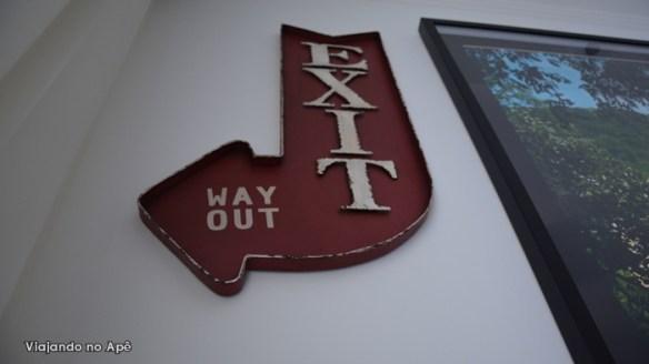 placa decorativa exit tok&stok