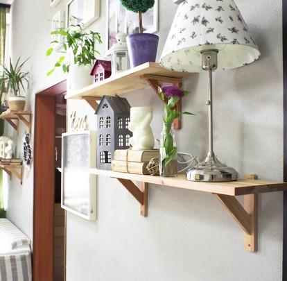 mao francesa madeira suporte prateleira madeira