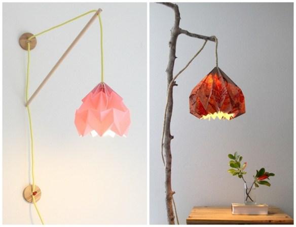 luminaria origami como fazer