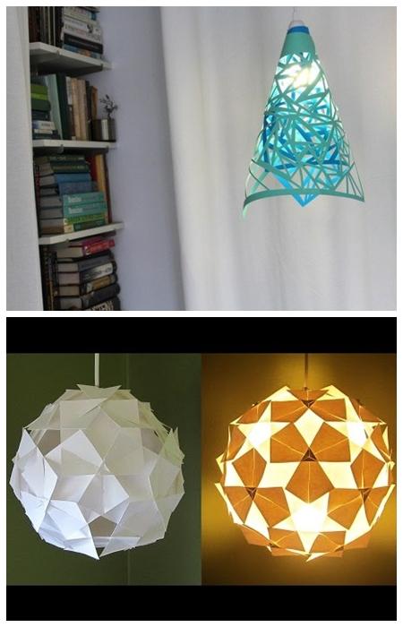 luminarias papel ideias faça voce mesmo diy