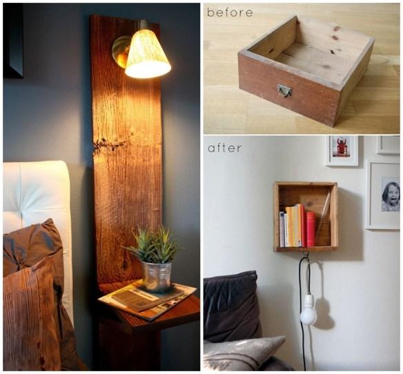 luminarias suporte madeira ideias decoraçao