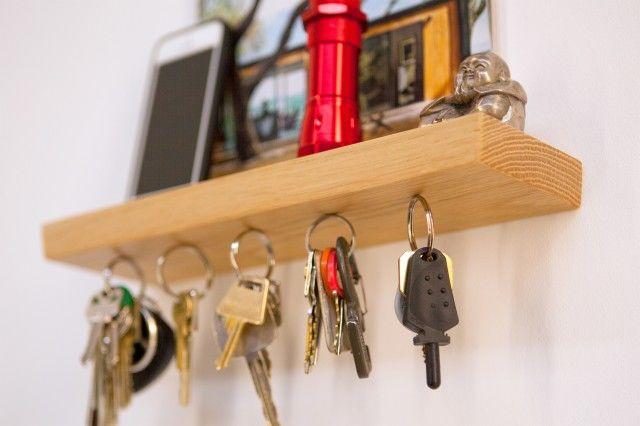 10 ideias de porta-chaves para você se inspirar!