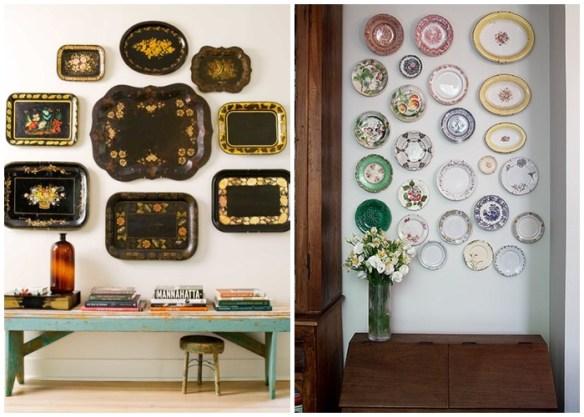 objetos-valor-sentimental-heranca-familia-decoracao-parede-pratos-bandejas-parede