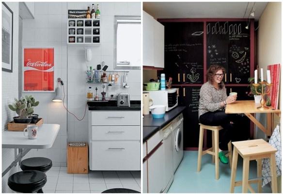 mesa dobravel parede mesa suspensa retratil cozinha pequena 3
