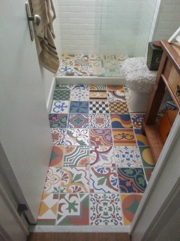 azulejo hidraulico chao piso banheiro