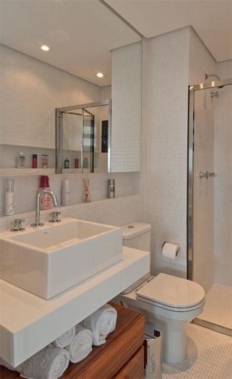 banheiro nicho parede decoracao