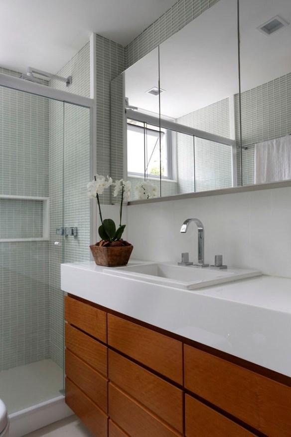 pastilhas cores claras banheiro claro neutro decoracao