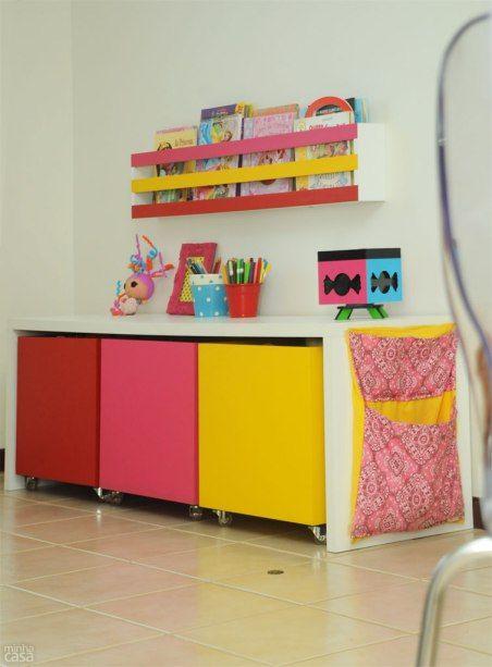quarto infantil organizacao brinquedos