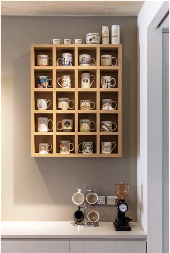 suporte madeira canecas cantinho do cafe