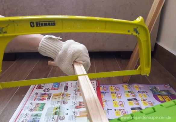 suporte para vasos de parede madeira faca voce mesmo diy suporte suspenso vaso 2