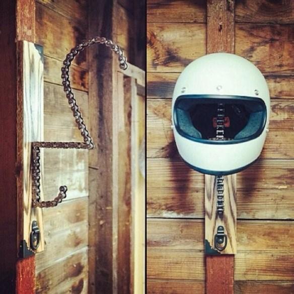 suportes para capacete ideias criativas faca voce mesmo diy
