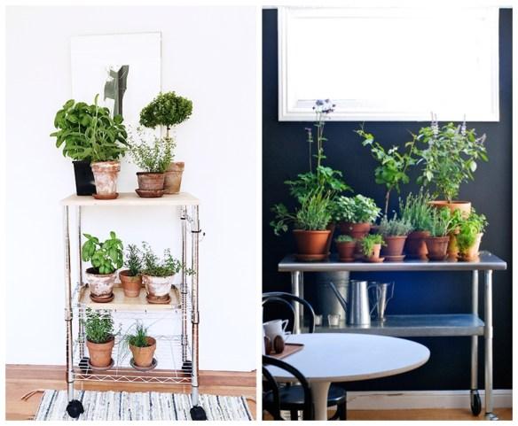 vasos barro terracota horta em casa onde fazer carrinho bar plantas vasos decoracao