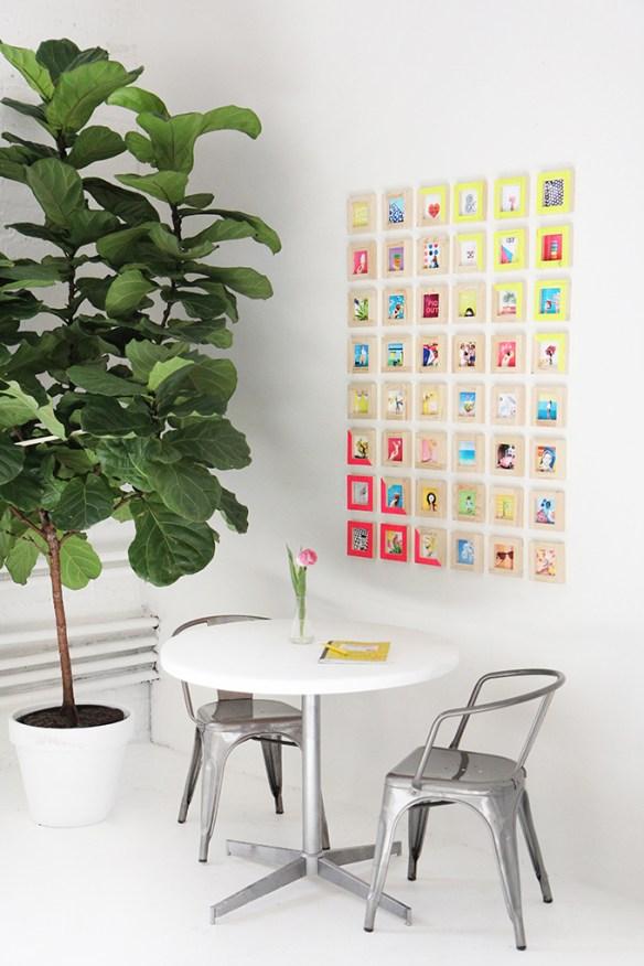 decoracao quadrinhos molduras pintadas decoradas faca voce mesmo diy composicao quadrinhos parede 2