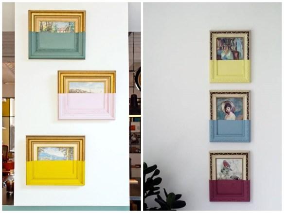 dipped paintings oliver jeffers diy faca voce mesmo personalizacao quadros molduras decoracao