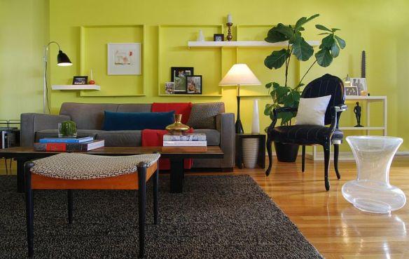 molduras cor da parede ideias decoracao composicao quadros parede molduras vazias