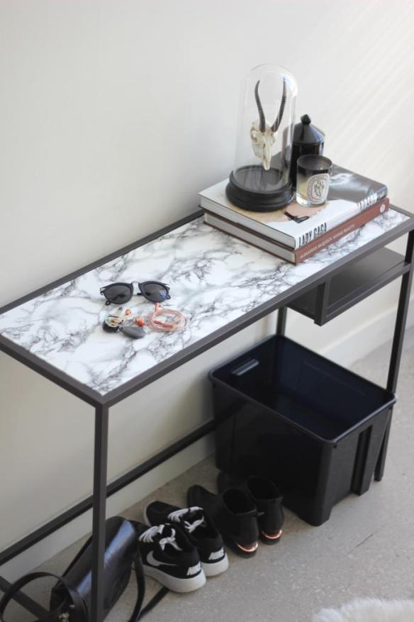 aparador de ferro contact marmore tampo vidro renovacao moveis
