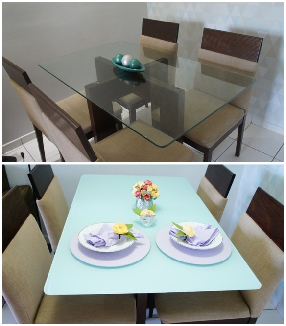 contact mesa vidro renovar tampo mesa jantar