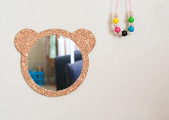 moldura espelho cortica faca voce mesmo diy ideias criativas decoracao com cortica