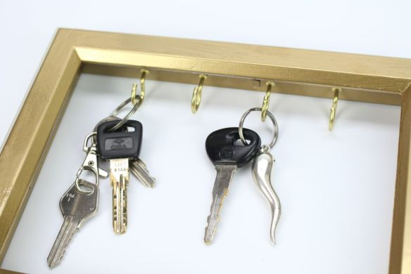 porta chaves faca voce diymesmo moldura porta retrato