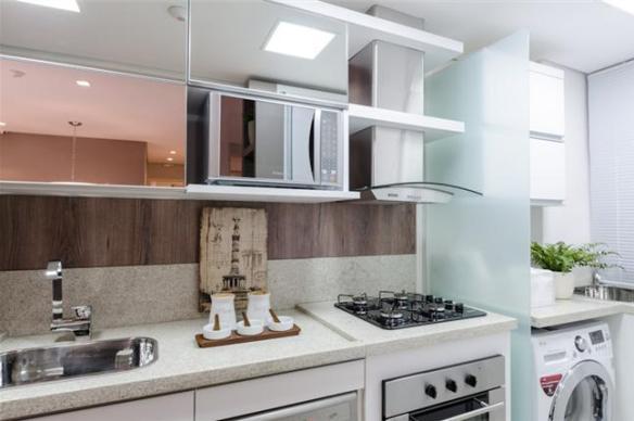 separacao parcial vidro cozinha area de servico placa de vidro