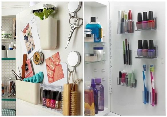 aproveitamento espaco atras da porta otimizacao ambientes pequenos ideias organizacao banheiro