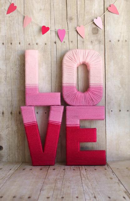 letras revestidas linha croche decoracao love 2
